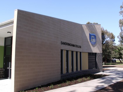 Sandringham Secondary College – Yrs 7 & 8 Learning and Science Centre
